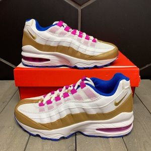 Nike Air Max '95 LE GS Peanut Butter & Jelly Shoes